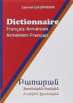 Dictionnaire français-armenien/armenien français, 40000 mots.