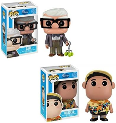 Disney Up Funko POP Vinyl Figure Carl & Russell by Disney | Larges Variétés