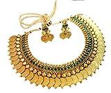 YouBella Traditional Jewellery Green Eme...