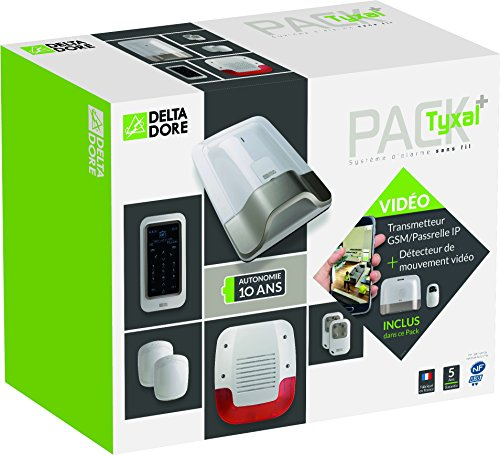 518pHSFPXkL [Bon Plan Smarthome!]  Delta Dore 6410178 PACK TYXAL+ VIDEO, Blanc