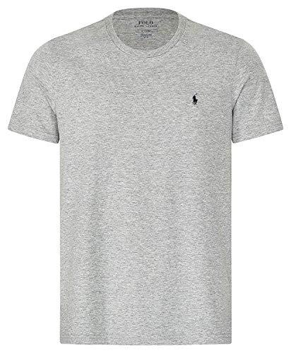 Polo Ralph Lauren Crew Neck Shirt Unterziehshirt Pyjama Top Gr. S Grey (003)