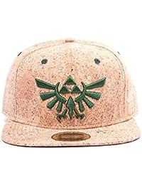 Zelda Snapback Cap mit Triforce Logo Kork [Import allemand]