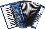 Weltmeister Piano Akkordeon Perle blauperloid