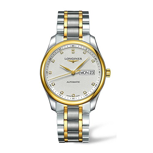 LONGINES MEN'S 38MM GOLD PLATED BRACELET STEEL CASE AUTOMATIC WATCH L27555777