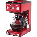 Simeo FD300 - Cafetière automatique à filtre (1,2l, 900W, rouge)