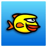 Splashy Fin (not Flappy Wings or Bird) - Surf the Ocean, Clash with over 2048 Angry reefs, Crush the Tiny Bubbles in this Survival Saga!
