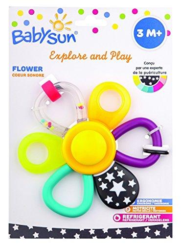 BabySun Explore and Play Hochet Fleur