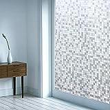 diacaustic Statische Film Sichtschutz, UV für Schlafzimmer & Büro 45cm x 200cm