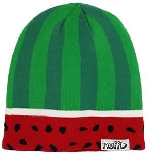 Neff Herren Watermelon Mütze, grün/schwarz, Einheitsgröße