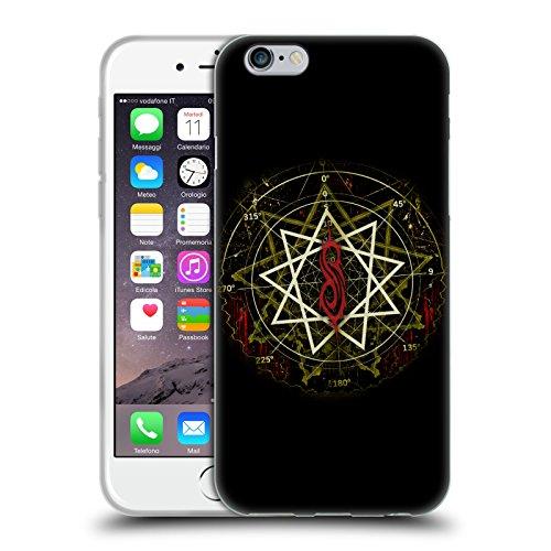 Offizielle Slipknot Logo Kunst Soft Gel Hülle für Apple iPhone 6 Plus / 6s Plus Wellen