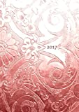 Kalender 2017 - Bronze Ornament: DIN A5 - liniert -