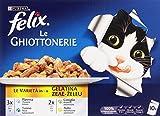 Felix - Ghiottonerie, Alimento completo per gatti adulti - 2 pezzi da 1 kg [2 kg]