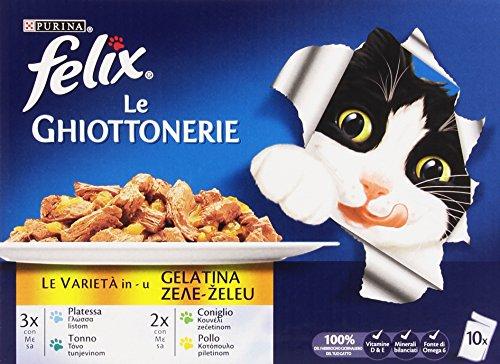 Felix - Ghiottonerie, Alimento completo per gatti adulti - 1 kg