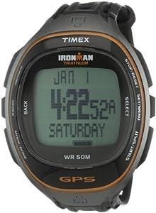 Timex T5K549 - Reloj digital de cuarzo para hombre con correa de plástico, color negro de Timex