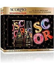 Scorpio Coffret 2 Produits Scandalous Eau de Toilette Flacon 75 ml/Déodorant Atomiseur 150 ml