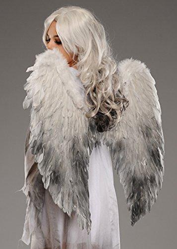 Halloween Gothic Fallen Engel Große Feder Flügel