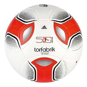 adidas Fußball Deutsche Bundesliga 2012, Weiß/Schwarz/Rot, 4, W44061