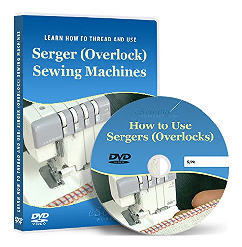 Preisvergleich Produktbild How to Thread and Use Sergers (Overlock) Machines - Video Lesson on DVD