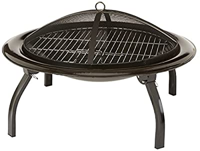 AmazonBasics Portable Folding Fire Pit, 66 cm from AmazonBasics