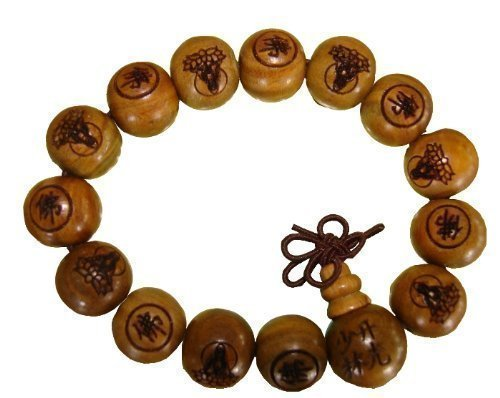 Preisvergleich Produktbild Shaolin Armband der Zenmönche mit Gebetsperlen