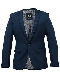 Mens Blazer Marc Darcy Formal Coat Dinner Jacket Lined Casual Designer Winter