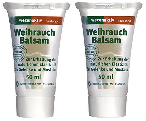 Weihrauch Balsam Boswellia Serrata 100ml hergestellt in Deutschland ohne Parabene und ohne Paraffinöl