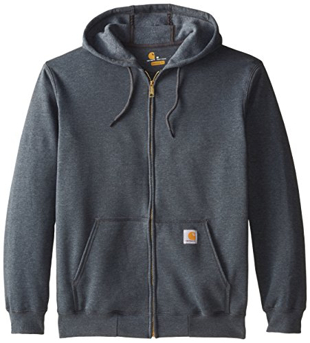 Carhartt Hooded Hoody Sweat-Shirt, charcoal S, heather K122 (Label Heather)