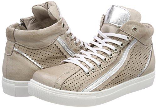 Alta Ladies Conti Andrea argento Grigio Sneaker 0344505 Argento IRqZWZwgvx