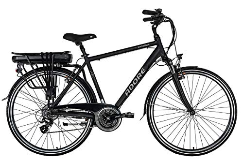 Adore Trekking E-Bike Herren 28\'\' Pedelec Marseille schwarz 250Watt Li-Ion 37V/13Ah 24Gänge