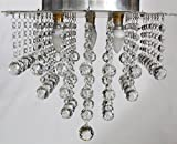Discount4product Modern Fixture Ceiling Light Lighting Crystal Pendant Chandelier HQ-h6