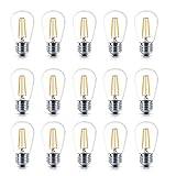 2W S14 LED Edison Glühlampen Dekoratives Leuchtmittel