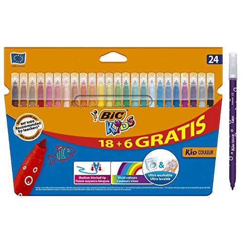 BIC Kids Kid Couleur rotuladores punta media - colores