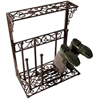 Selections Cast Iron Boot Holder