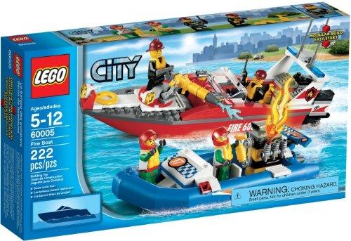 Preisvergleich Produktbild Lego City 60005 - Feuerwehr-Boot