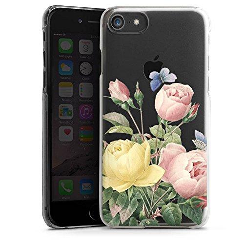 Apple iPhone X Silikon Hülle Case Schutzhülle Rosen Blumen ohne Hintergrund Hard Case transparent