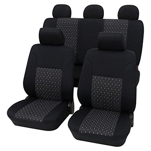 in Diesem Angebot Gr/ün. Universal Stoffsitzbezug Zum Sonderpreis!! Autositzbez/üge Schonbez/üge Trend Line Passend f/ür Seat Ibiza