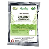 Chestnut Henna Hair Color – 100% Organic and Chemical Free Henna for Hair Color Hair Care - ( 180 Gram = 3 Packet)