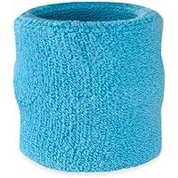 Suddora - Muñequeras, algodón, 1 unidad, azul claro