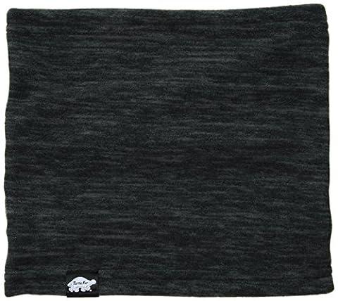 Turtle Fur Polartec Thermal Pro Stria Single-Layer Neck Gaiter, Onyx,