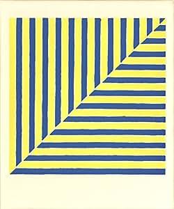 1964Frank stella Untitled (Rabat) (da dieci funziona da dieci pittori) serigrafato