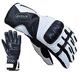 ATTONO Skihandschuhe Leder Ski Racing Handschuhe V01 wasserdicht