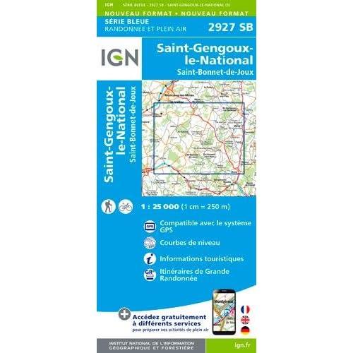 2927SB ST GENGOUX LE NATIONAL ST BONNET DE JOUX