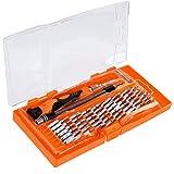 Zacro Schraubendreher Set 58 in 1 mit 54 Bits Magnetische Schraubenzieher Set für elektronische Kleingeräte Handy, Tablet, PC, Macbook, Uhr etc. -