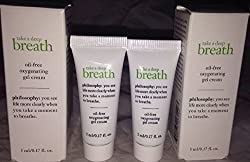 Philosophy Take a Breath Oil-Free Oxygenating Gel Cream Travel Set 2 X. 17oz BNIB