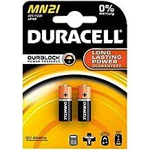 Duracell MN21 - Pilas de seguridad para alarmas y mandos (2 unidades) 2 sets