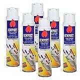 6 cans of Newport 300ml Ultra Purified Butane Fuel Zero Impurities