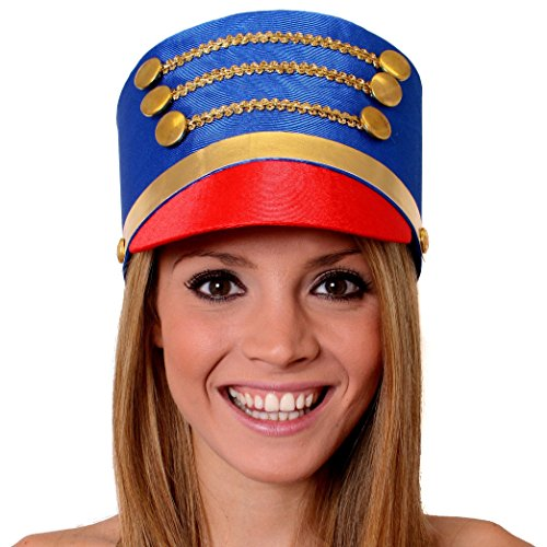 I love Fancy Dress ilfd2163 Toy Soldier/Majorette Hat Erwachsene One Size passend für die meisten