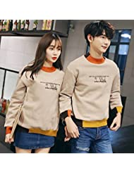 Lovers Sweater Autumn Women's And Men's's Printed Letter Sweat à Manches Longues