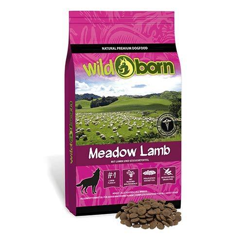 WILDBORN Hundefutter getreidefrei MEADOW LAMB 15kg für erwachsene Hunde mit frischem - Born Wild Hundefutter