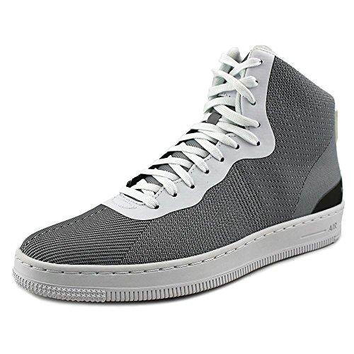 Nike Nsw Pro Stepper, Scarpe da Basket Uomo, Talla Argentato / Bianco (Mtllc Silver/Mtllc Slvr-White)
